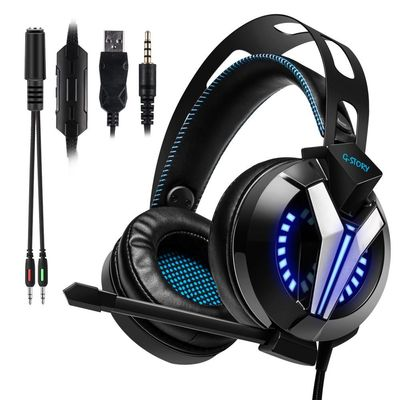Exquisite Craftsmanship Wired Gaming Headset With Microphone And Volume Control